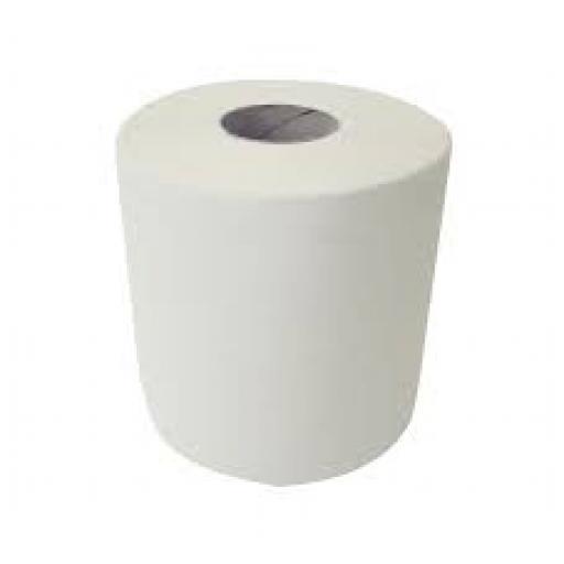 Centrepull White 2ply 195mm x 150m