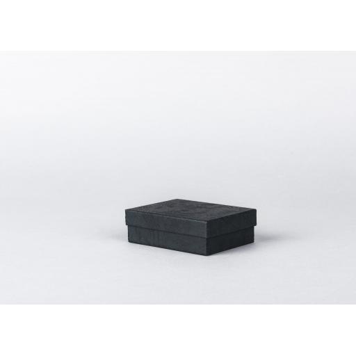 Black Jewellery Box 86x64x27mm