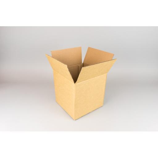 Brown Corrugated Box 178x178x178mm