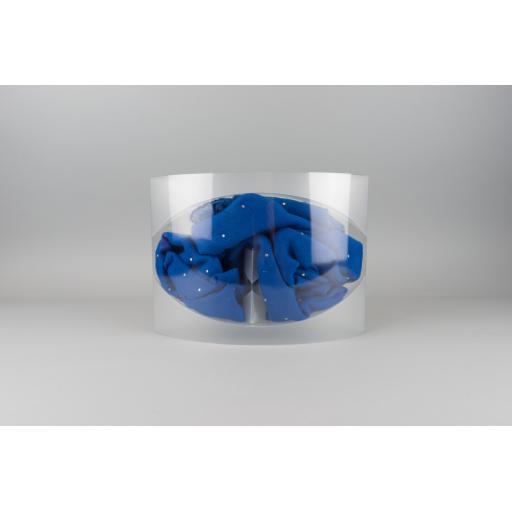 Clear 200 micron PVC Tubing 190mm dia