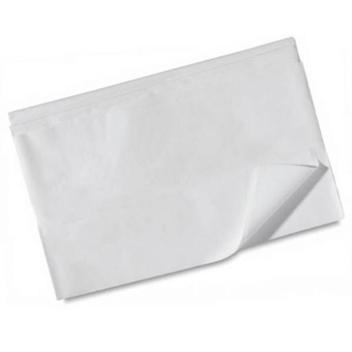 Luxury White Tissue Paper 500x750mm (1 pack of 80 sheets)