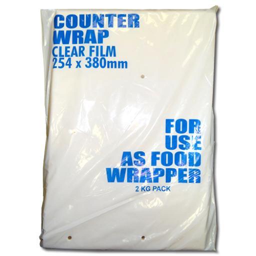 Clear Polypropylene sheets 254x380mm
