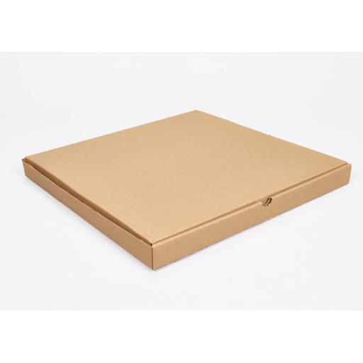 Brown 16 inch Pizza Box