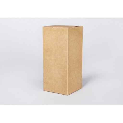 Brown Gift Box 100 x 100 x 227mm