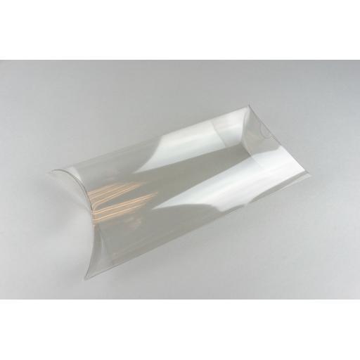 Clear PVC Pillow Box 219x130x60mm