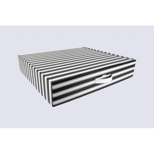 Gift Box 510 x 432 x 100mm Black and White