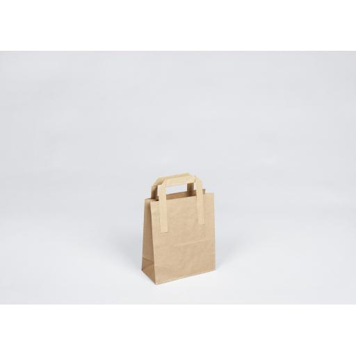 Brown Paper Carrier 180x210+85mm