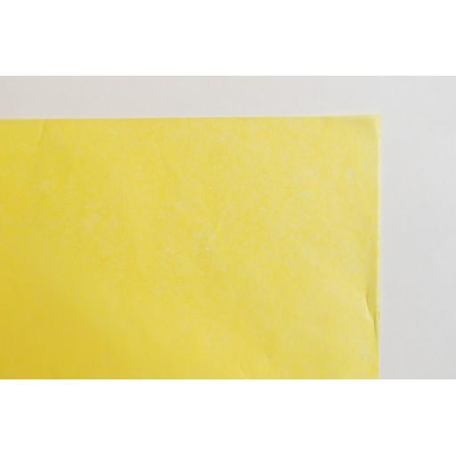 Daffodill Yellow Tissue paper 500x750mm (1 pack of 80 sheets)
