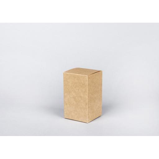 Brown Gift Box 75 x 75 x 125mm