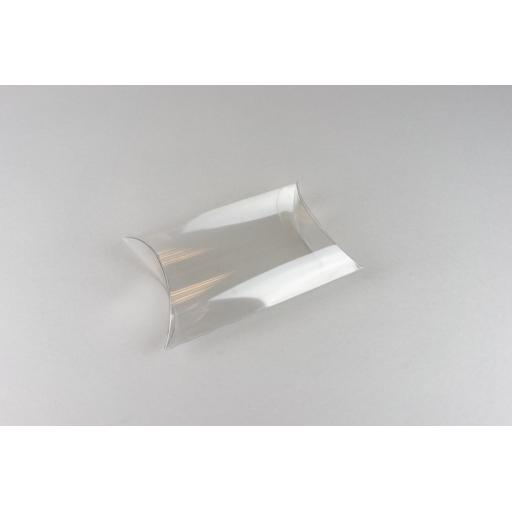 Clear PVC Pillow Box 121x100x37mm