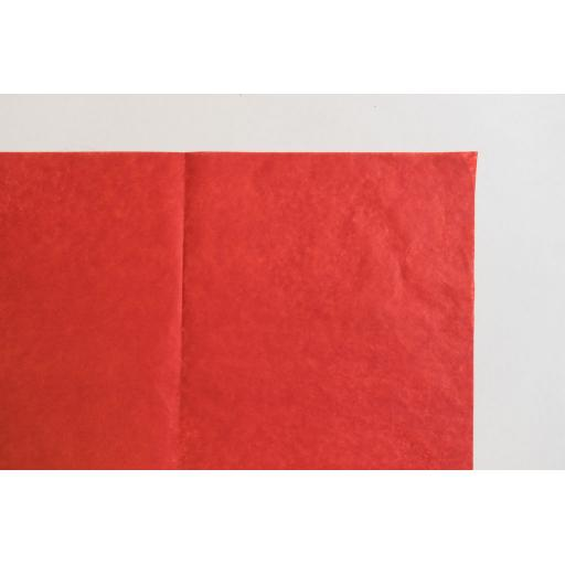 Luxury Red Tissue Paper 500x750mm (1 pack of 80 sheets)