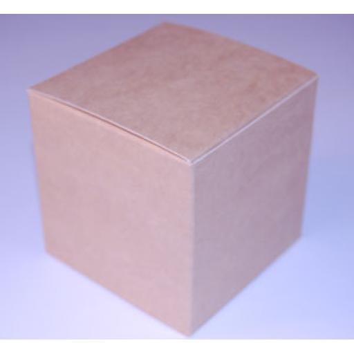 Brown Gift Box 75 x 75 x 75mmm