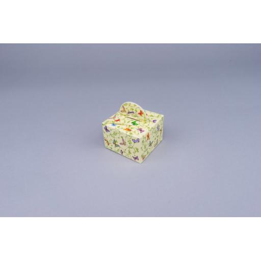 Butterfly Carton with carry handle 60 x 60 x 40 mm