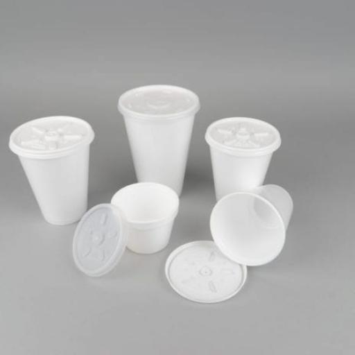 Polystyrene Cups and Lids