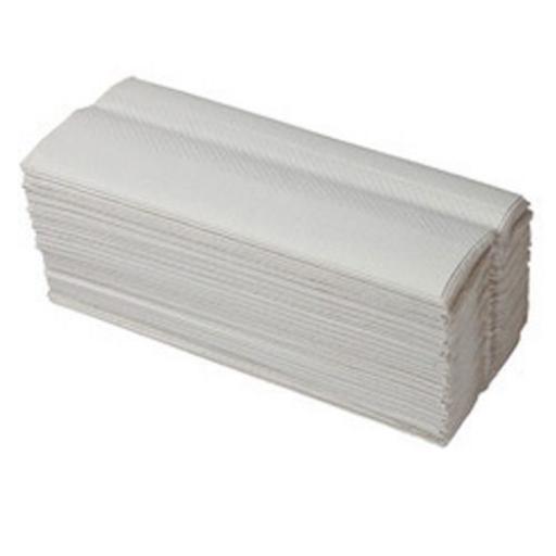 White C Fold Hand Towels 330x230mm