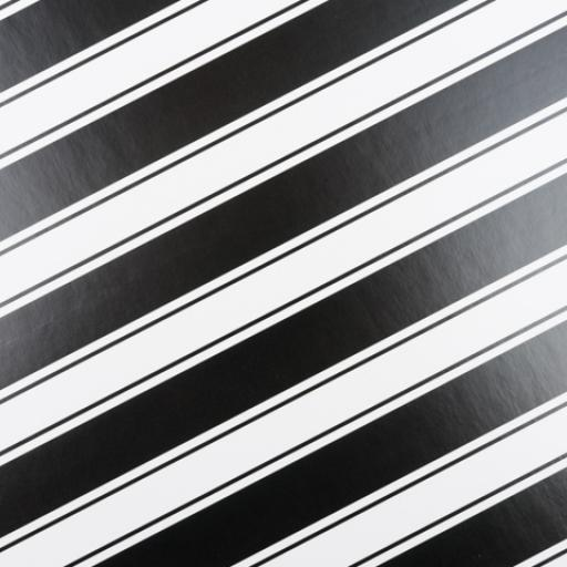 Gift Box 200 x 155 x 80mm Black and White