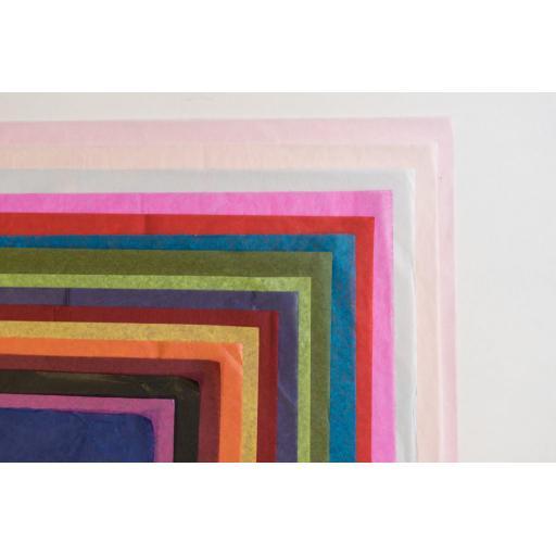 Aqua Blue Tissue Paper 500x750mm