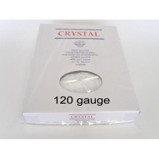 "Clear Polythene Bags 100 x 150mm (4 x 6"")"