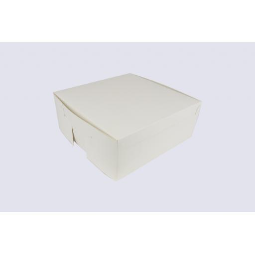 6 Inch Cake Box with Hinged Lid