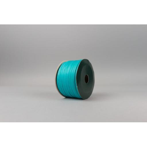 Turquoise Raffia Ribbon 100m