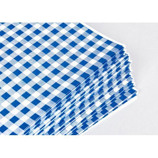 Gingham Butchers Sheets 250x375mm