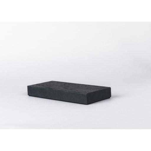 Black Jewellery Box 203x89x25mm