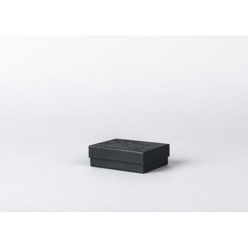 Black Jewellery Box 76x57x25mm