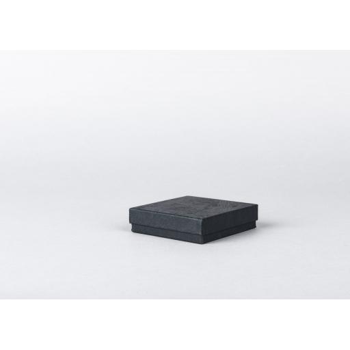 Black Jewellery Box 76x76x19mm