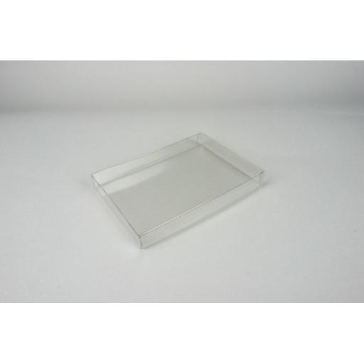 Rigid Clear PVC Box 165x114x19mm