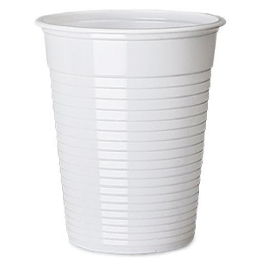 White Plastic Cups 200ml