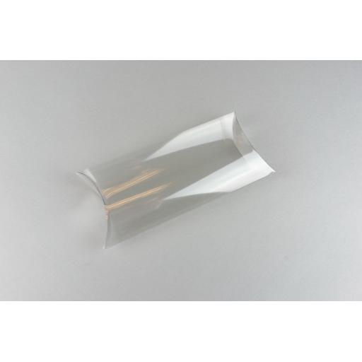 Clear PVC Pillow Box 168x92x35mm