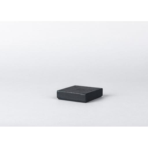 Black Jewellery Box 64x64x16mm
