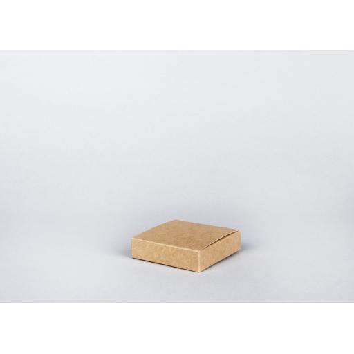 Brown Gift Box 100 x 100 x 25mm