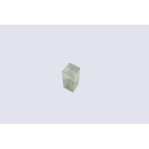 Flat Folding Clear PVC Box 115 x 50 x 50mm