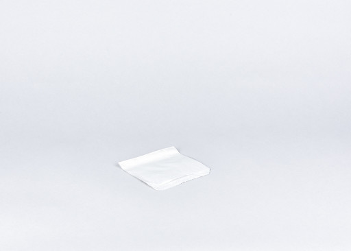5 inch White Paper Bags