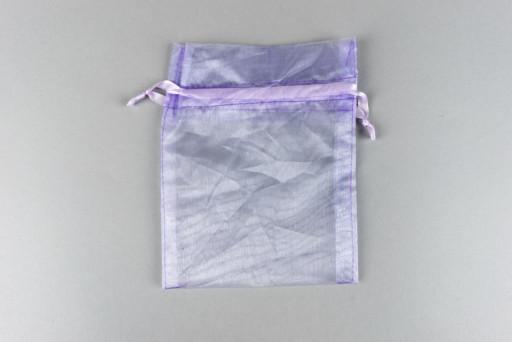Aqua Organza Bag 70x70mm