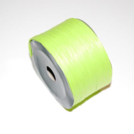 Apple Green Raffia Ribbon 100m