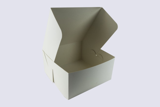 12 Inch Cake Box with Hinged Lid - 6 Inches Tall