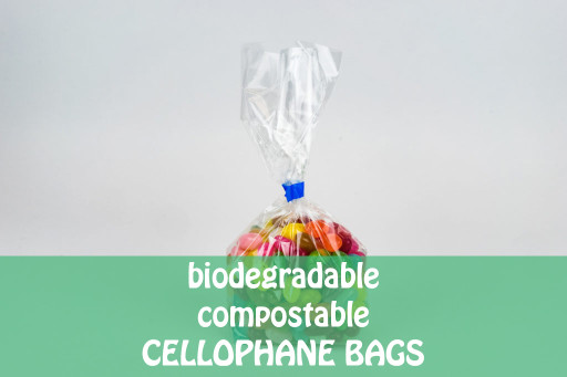 Biodegradable Cellophane Bags - 70 x 100 x 180mm