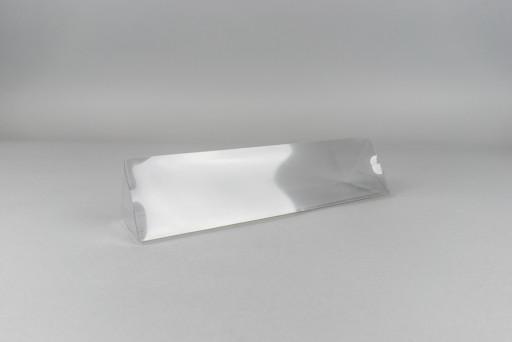 Clear Triangular Gift Box 60 x 60 x 60 x 252 mm