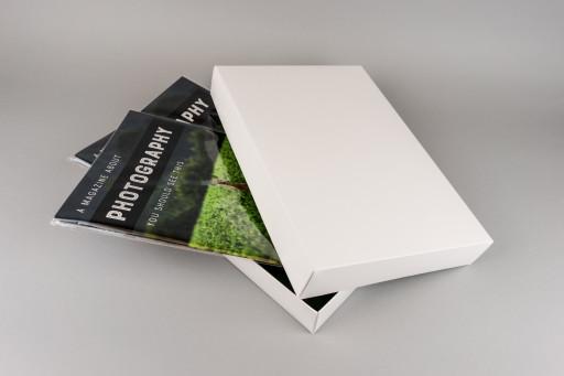 A4 White Box & Lid 325x220x44mm