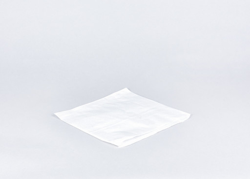 10 inch White Paper Bags