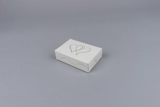 Flat Folding wedding carton 90 x 60 x 22mm