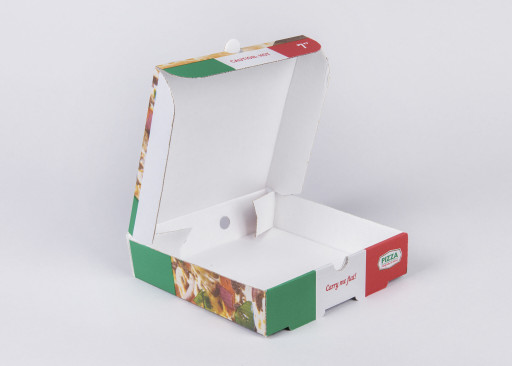 7 Inch Pre Printed Pizza Box