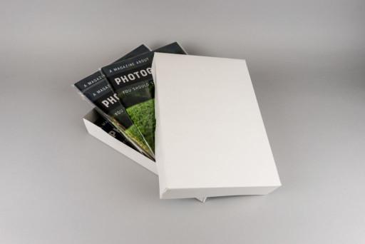 A4 White Box & Lid 302x212x55mm