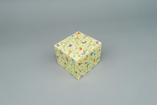 Butterfly Muffin/ Gift box 80 x 80 x 60 mm