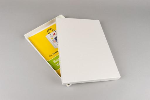 A5 White Box & Lid 230x164x19mm