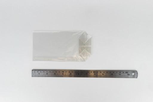 Block Bottom Cellophane Bag 100 x 190mm