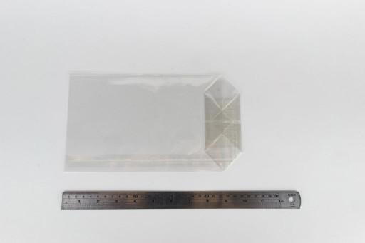 Block Bottom Cellophane Bag 145 x 255mm