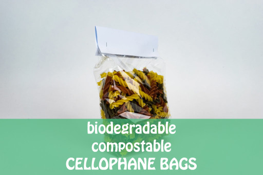 Biodegradable Cellophane Bags - 120 x 180 x 305mm